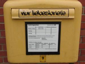 Postkasten Uni